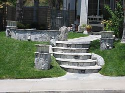 concrete-stairs-san-fernando-valley
